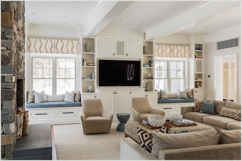 Cách bố trí nội thất làm đẹp phòng khách