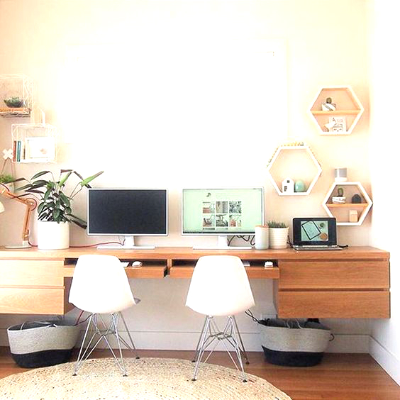 Điểm mặt một số mẫu bàn dành cho văn phòng tại gia