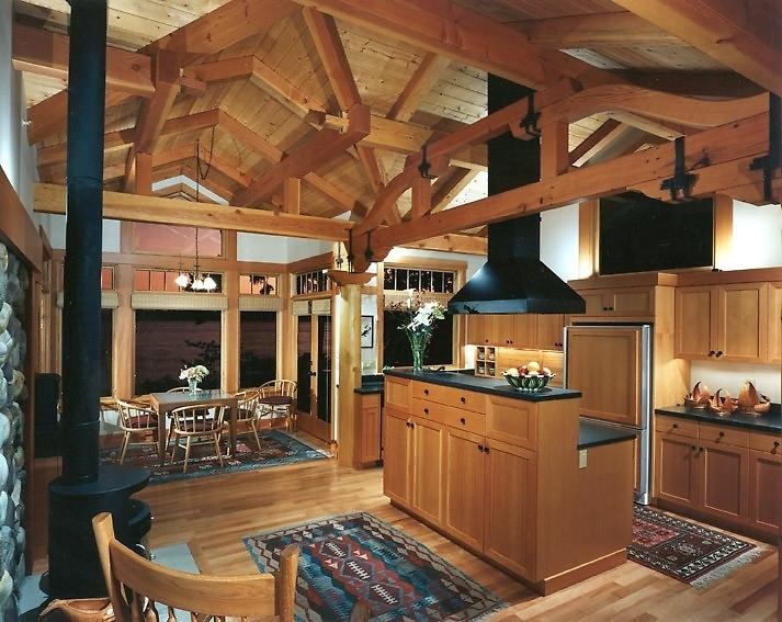 Nên thi công nhà ở bằng gỗ tự nhiên hay gỗ công nghiệp?