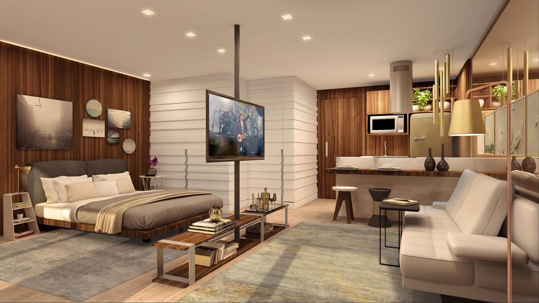 Không gian căn hộ Studio