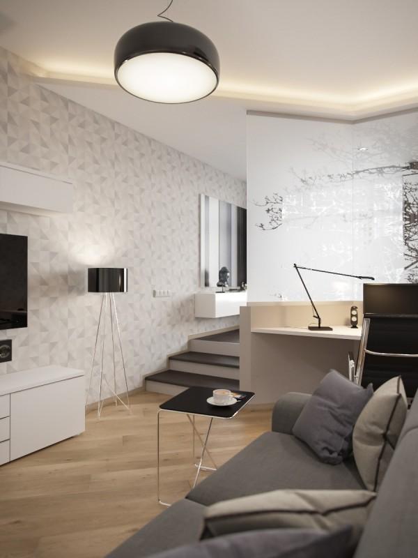 Cải tạo không gian căn hộ studio