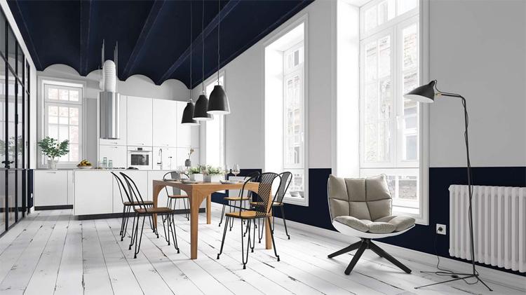 Thiết kế nhà ở theo phong cách Scandinavian
