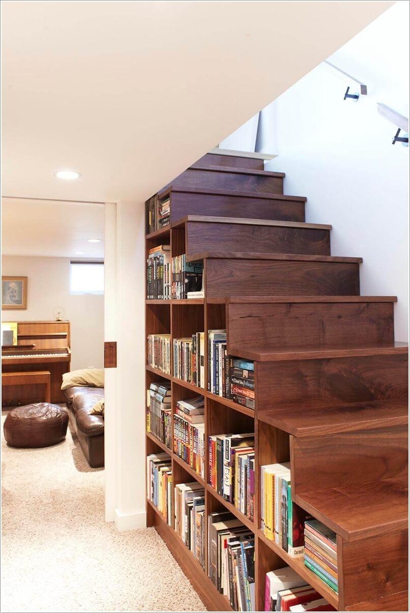 Thiết kế thư viện mini tại nhà