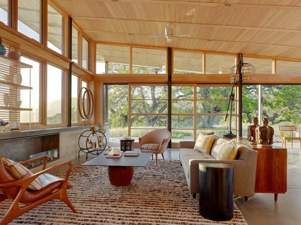 Sáng tạo nhà ở với phong cách mid-century