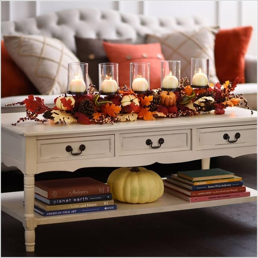 Làm mới phòng khách đón mùa thu mát mẻ