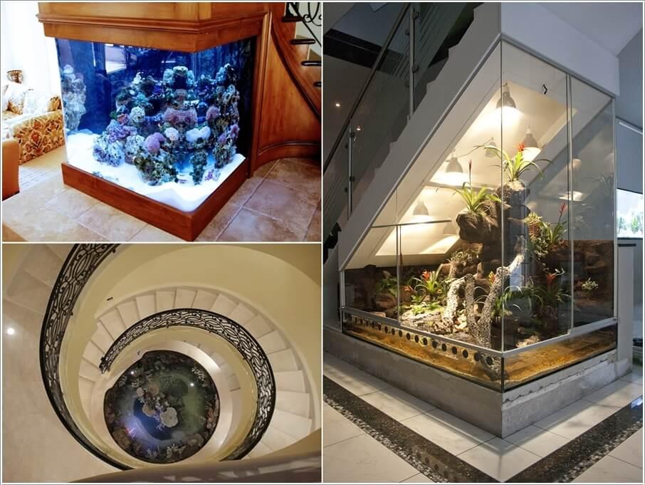 Không gian lưu trữ độc đáo dưới cầu thang