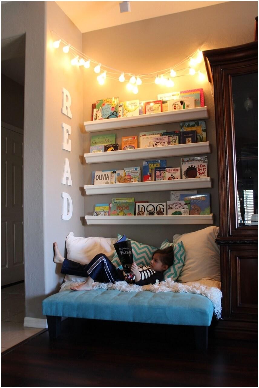 Thiết kế sáng tạo cho không gian đọc sách