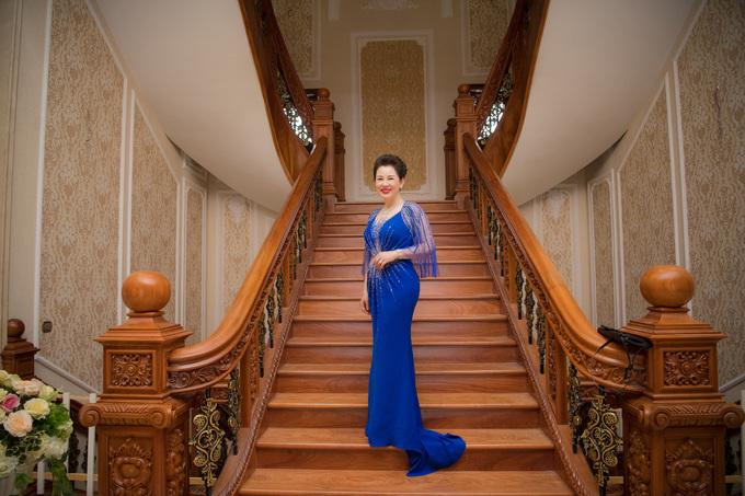 Bên trong ngôi nhà như tòa lâu đài ở Nam Định