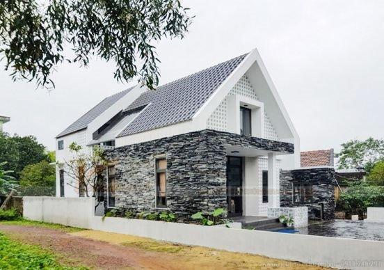 Mẫu nhà cấp 4 mái thái hiện đại cho vợ chồng trẻ năm 2019