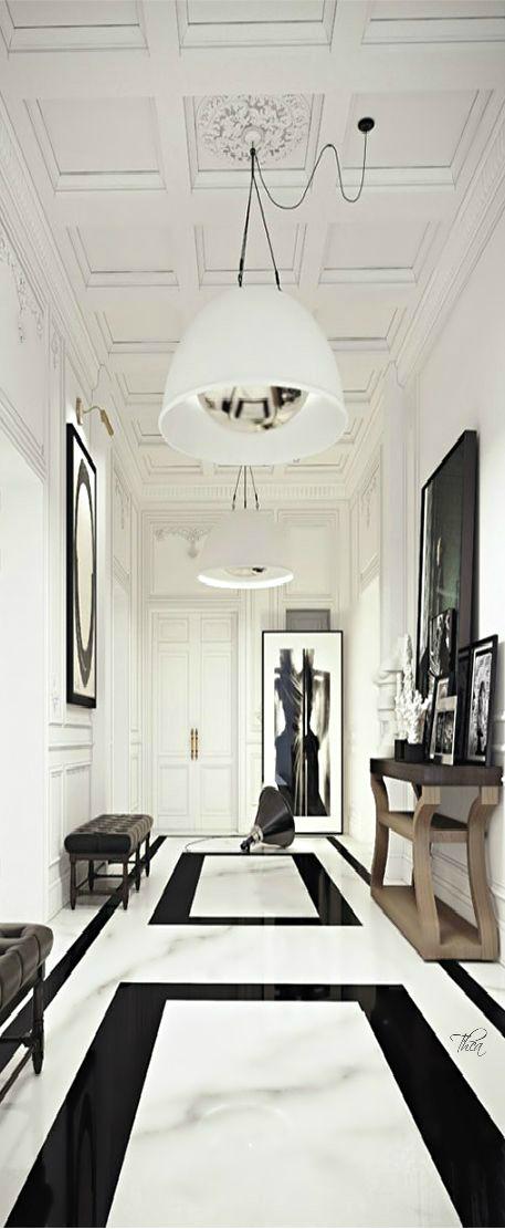 Những thiết kế sàn gạch làm sáng bừng không gian sống