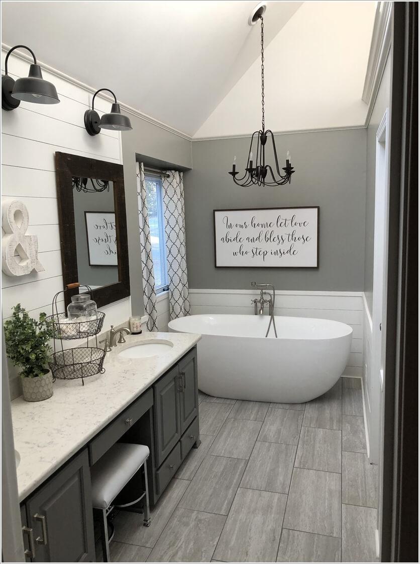Giải pháp lưu trữ thông minh trong phòng tắm nhỏ