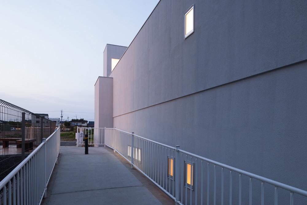Thiết kế ấn tượng của căn nhà hẹp ngang ở Nhật Bản