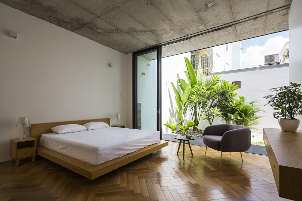 Ngôi nhà tránh nắng độc nhất vô nhị tại Sài Gòn