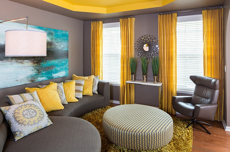 Xu hướng màu sắc cho phòng khách trong mùa hè 2019