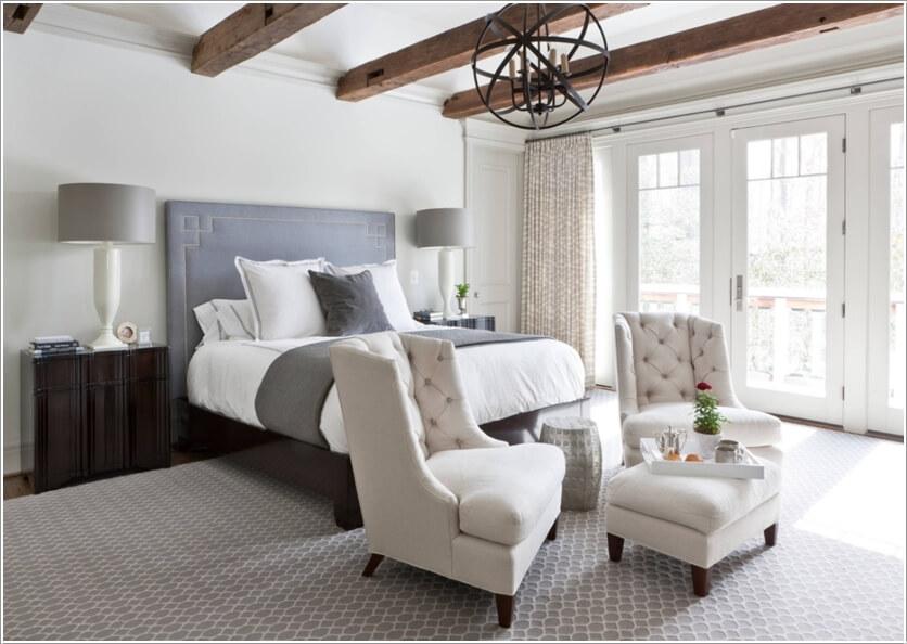 Thiết kế đèn trần cho phòng ngủ