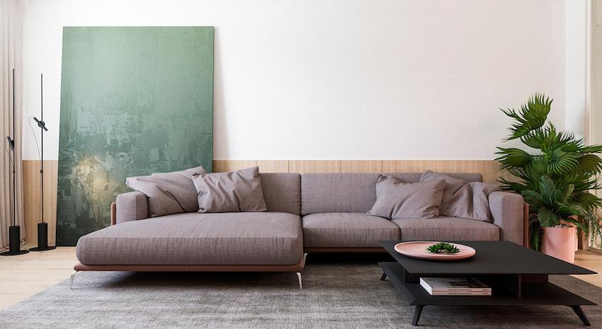 Căn hộ hiện đại với phong cách tối giản