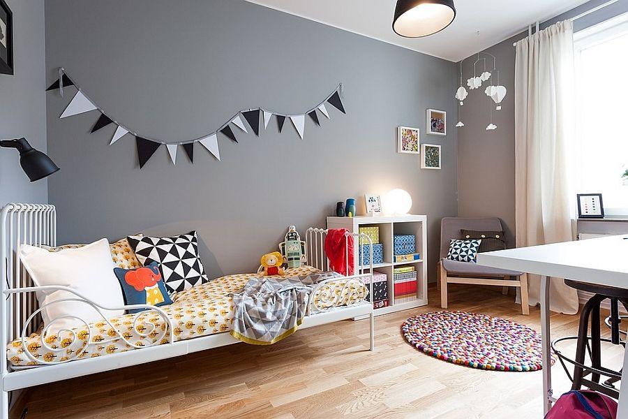 Xu hướng màu sắc trang trí phòng bé 2019