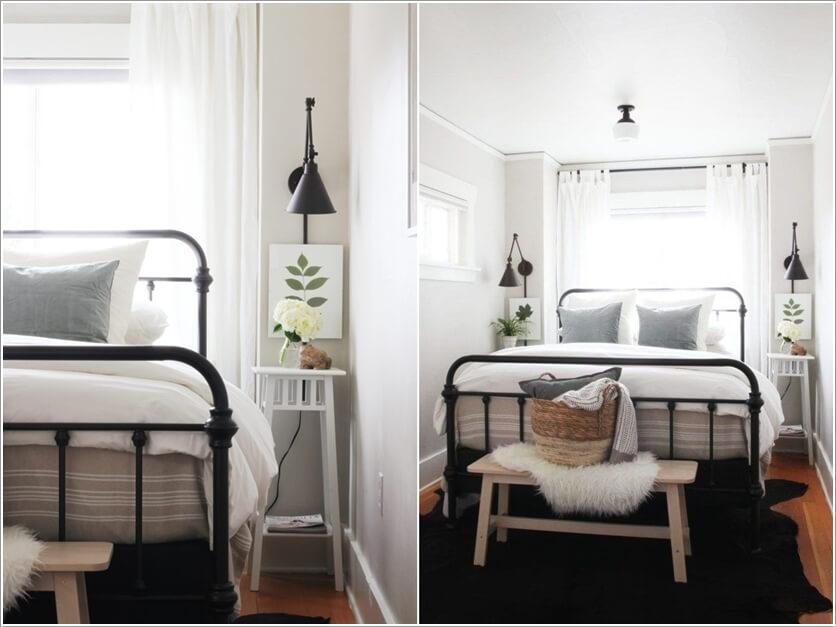 Ý tưởng tuyệt vời cho phòng ngủ nhỏ