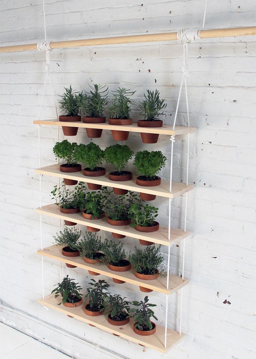 Ý tưởng thiết kế khu vườn thẳng đứng