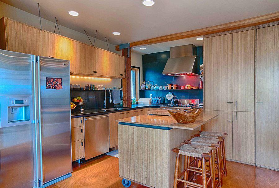 Giải pháp tiết kiệm không gian cho nhà bếp nhỏ