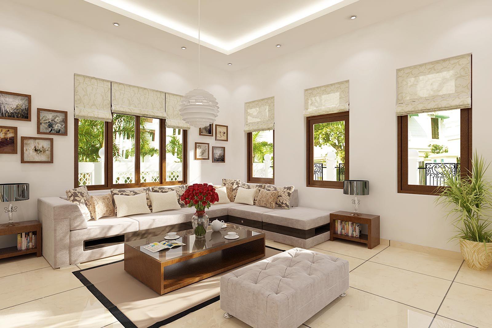 Phong thủy cửa sổ cho phòng khách