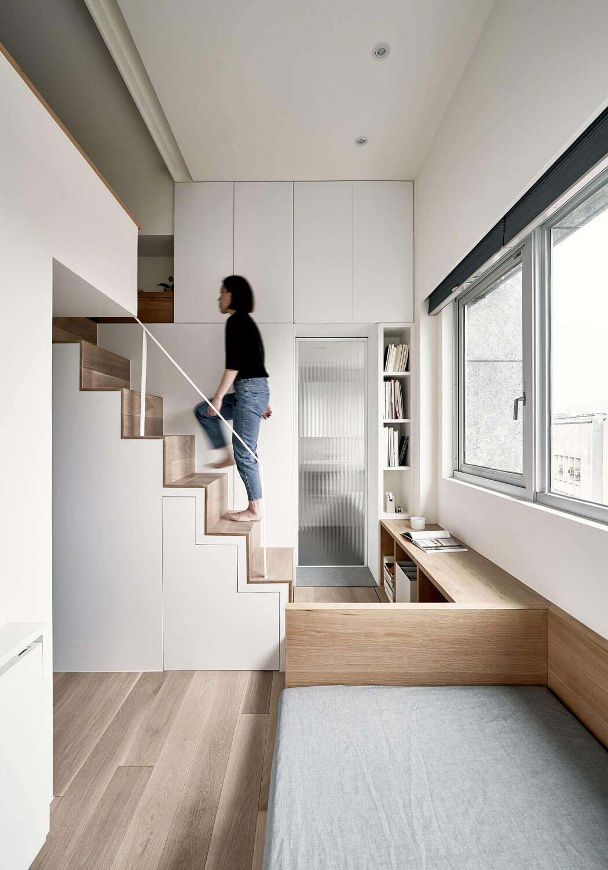 Thiết kế tuyệt vời trong căn hộ 22m2