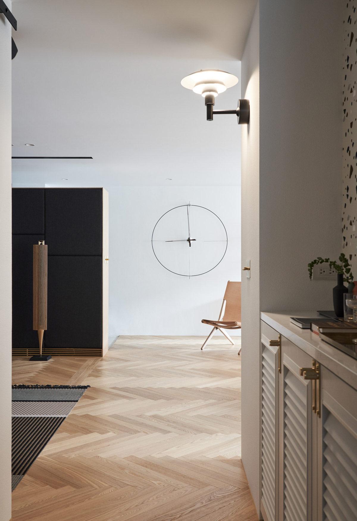 Thiết kế ấn tượng trong căn hộ Scandinavian