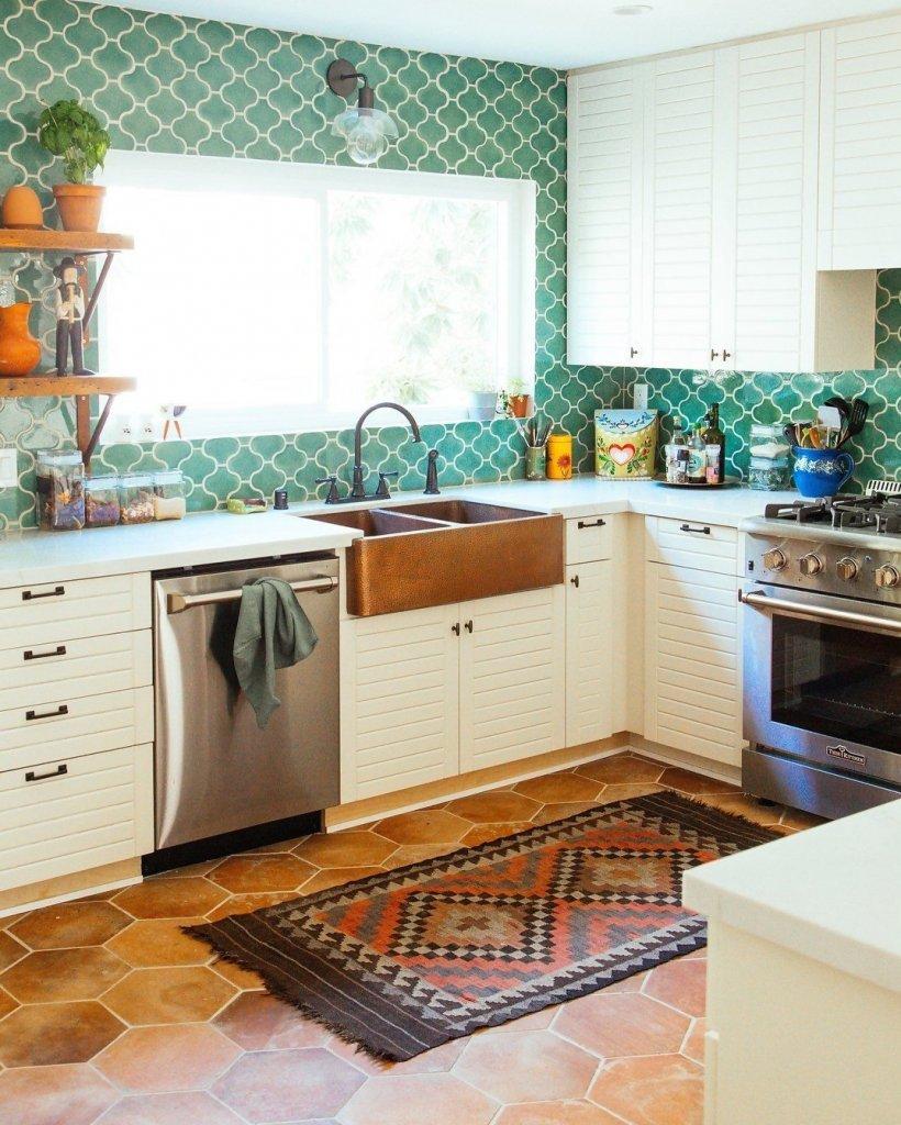 Làm mới không gian bếp để đón Tết