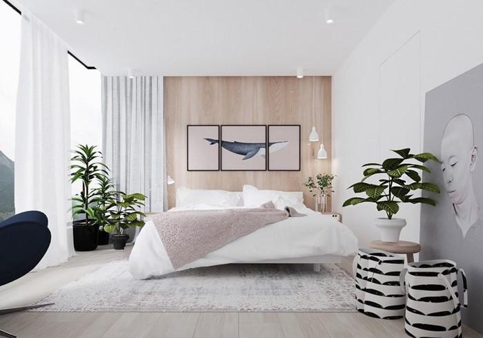 Bố trí giường ngủ vợ chồng theo phong thủy