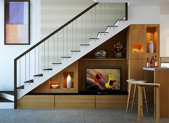Mẫu thiết kế cầu thang nhà ống đẹp!!!