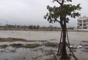 Sở hữu vị trí ''vàng'' giữa biển Hội An và sông Cổ Cò, Khu đô thị Bắc Hội An vẫn ngập ngụa trong nước