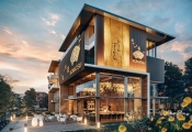 Biệt thự thương mại Oasia SwanBay sinh sống cát tường, kinh doanh thịnh vượng