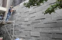Ứng dụng đá sa thạch trong lát sân vườn, ốp tường