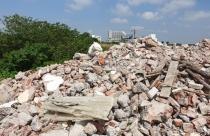 Hoài Đức: Đất nông nghiệp biến thành bãi đổ phế thải xây dựng