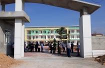 Hoài Đức: Cưỡng chế công trình phục vụ dự án xây dựng trường mầm non