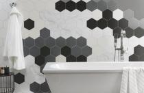 9 mẫu gạch lục giác ốp tường, lát nền đẹp