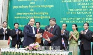 Việt Nam hỗ trợ 44 tỷ đồng xây chợ biên giới Campuchia