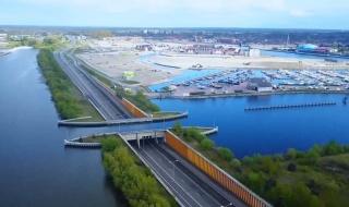 Nhìn ra thế giới: Cây cầu nước có một không hai ở Hà Lan