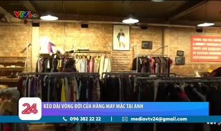 """Mô hình cửa hàng kéo dài """"tuổi thọ"""" quần áo ở Anh"""