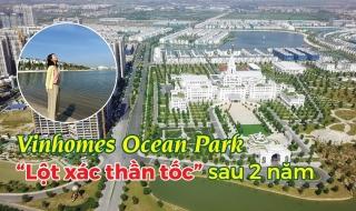 """Dự án Vinhomes Ocean Park """"thay da đổi thịt"""" như thế nào sau 2 năm?"""