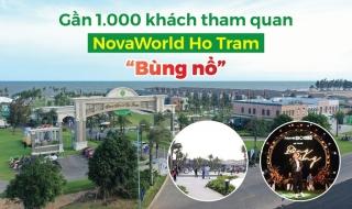 Hồ Tràm bùng nổ với gần 1.000 khách tham quan dự án NovaWorld Ho Tram