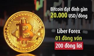 Talkshow: Đồng Bitcoin đạt đỉnh gần 20.000 USD, nguy cơ lừa đảo trên sàn Liber Forex