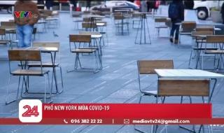 Đường phố New York (Mỹ) ảm đạm do dịch COVID-19