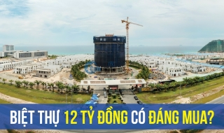 12 tỷ đồng, biệt thự tại dự án Cam Ranh Mystery Villas có đáng mua?