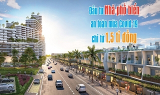 Đầu tư nhà phố biển an toàn mùa Covid-19 chỉ từ 1,5 tỉ đồng tại Kê Gà