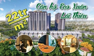 """Trải nghiệm căn hộ """"mát lạnh"""" giá 22 triệu/m2 tại Eco Xuân Lái Thiêu"""