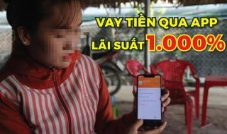 Lãi suất lên tới 1.000%, các App cho vay tiền đang hoạt động như thế nào?