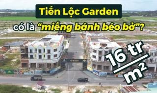 """16 triệu/m2, liệu dự án Tiến Lộc Garden có là """"miếng bánh béo bở""""?"""
