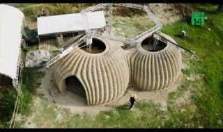 Ngôi nhà mái vòm được xây bằng công nghệ in 3D ở Italia