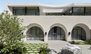 Ngôi nhà có thiết kế cổng vòm độc đáo tại Úc